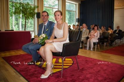 Huwelijk Stefanie en Evert