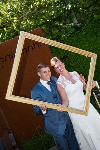 Huwelijk Celine en Kevin