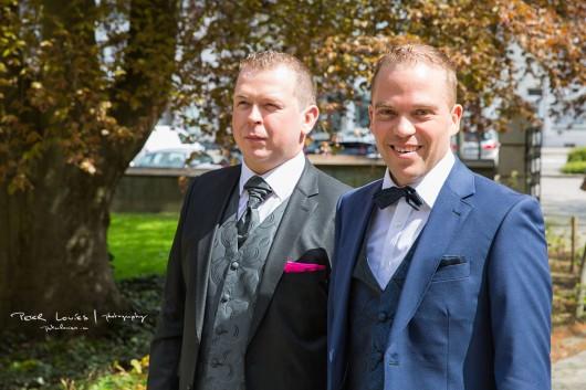 Huwelijk Peter en Andy